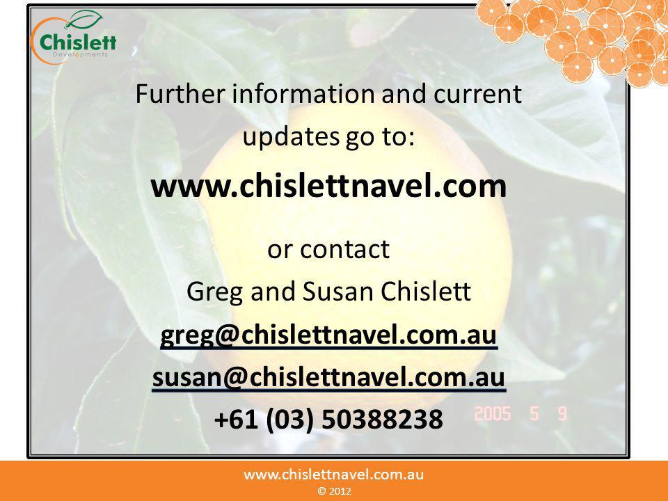 www.chislettnavel.com.au © www.chislettnavel.com.au © 2012
