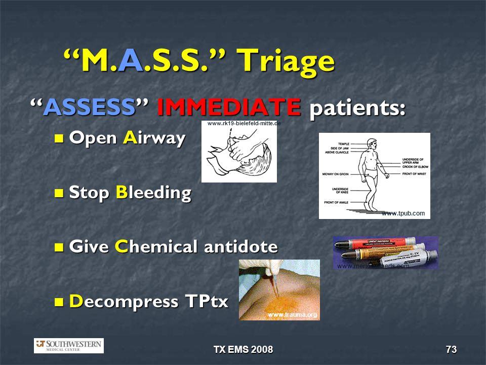 TX EMS 200873 M.A.S.S.