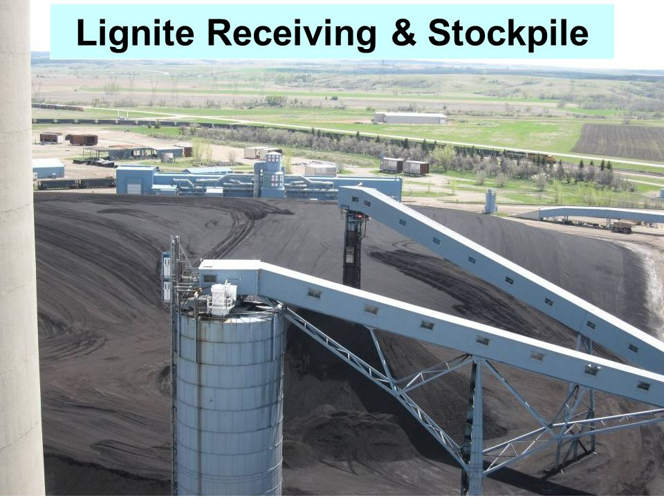 Lignite Receiving & Stockpile