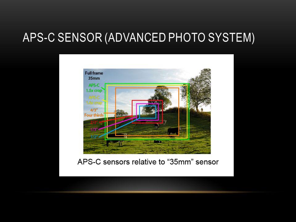 APS-C SENSOR (ADVANCED PHOTO SYSTEM)