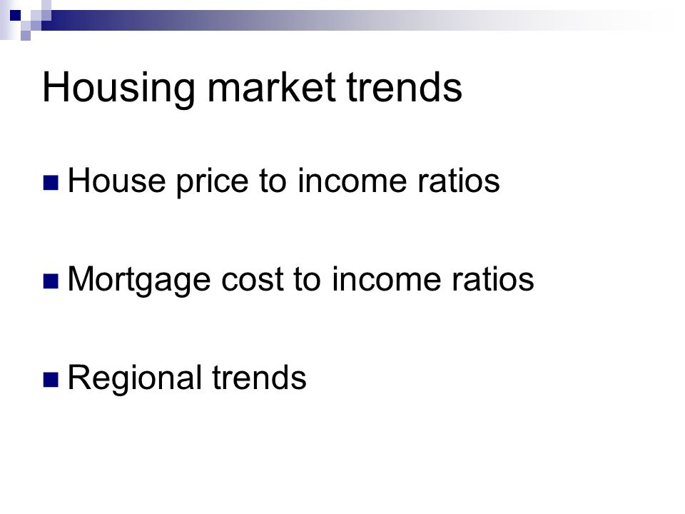 Housing market affordability in Great Britain All full time earnings and first time buyer house prices