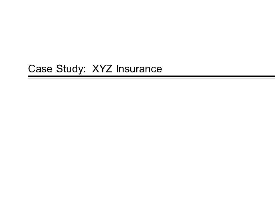 Case Study: XYZ Insurance