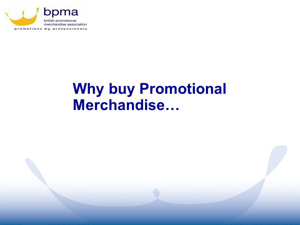 Why buy Promotional Merchandise…