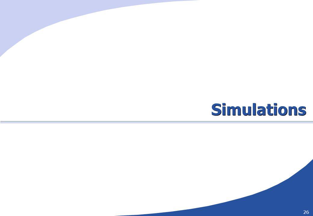 26 Simulations
