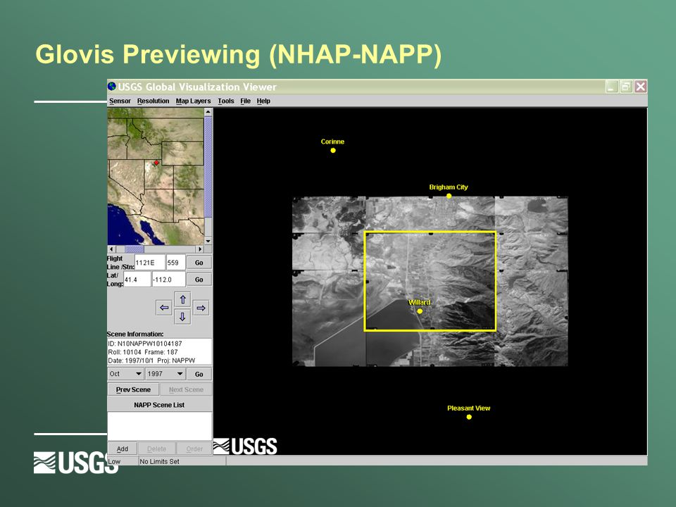 Glovis Previewing (NHAP-NAPP)