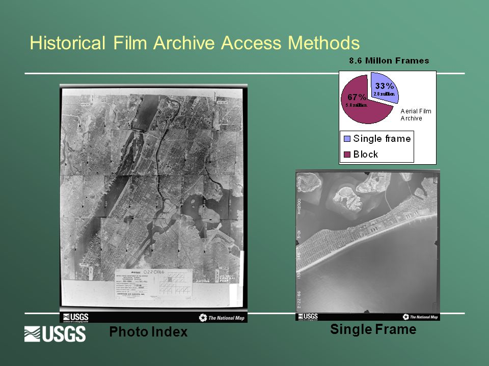 Historical Film Archive Access Methods Photo Index Single Frame