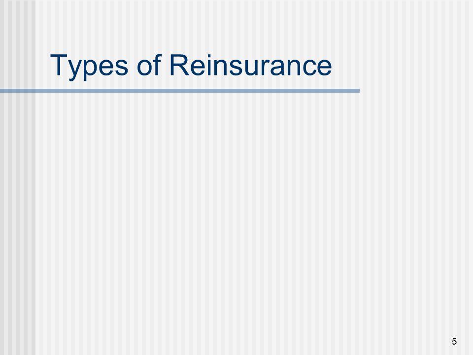 36 Buying Reinsurance