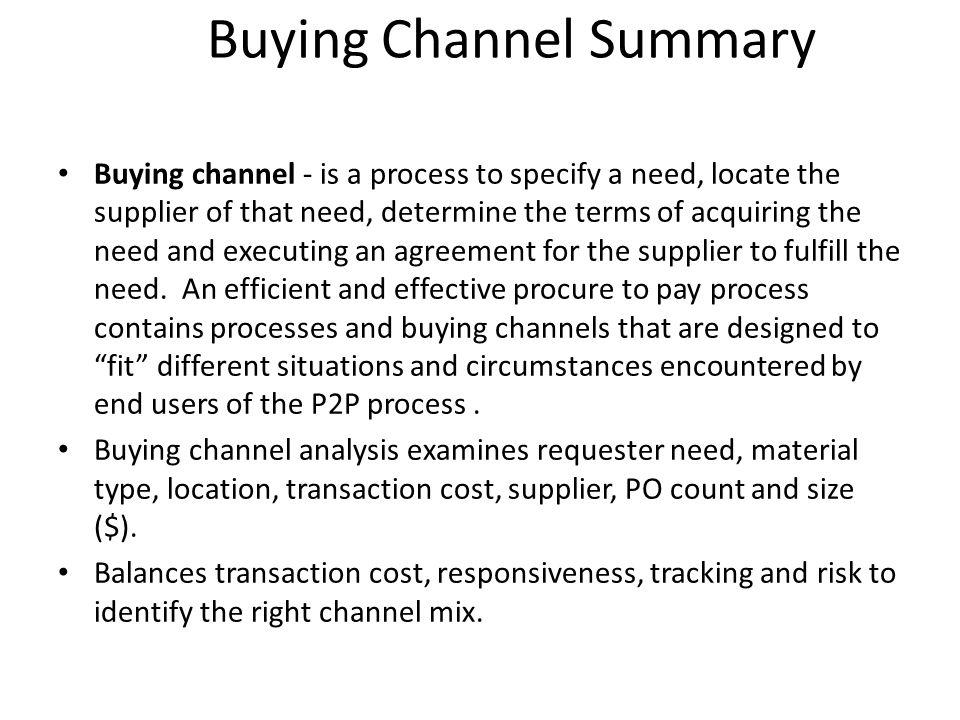 Transaction Cost per Channel Cost per PO = $150 plus Cost per PO = $40-60 Cost per PO = $5-10 Cost per PO = $10-15 NATCO = 0 NATCO = 100% NATCO Currently 48,000 PO / Year Ave Cost: $150 / PO