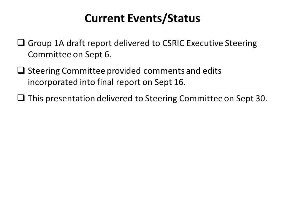 Summary The CSRIC group #1A recognized early on that the very large national aspects of the consolidation process and the diversity of implementation strategies made the compilation of best practices very challenging.