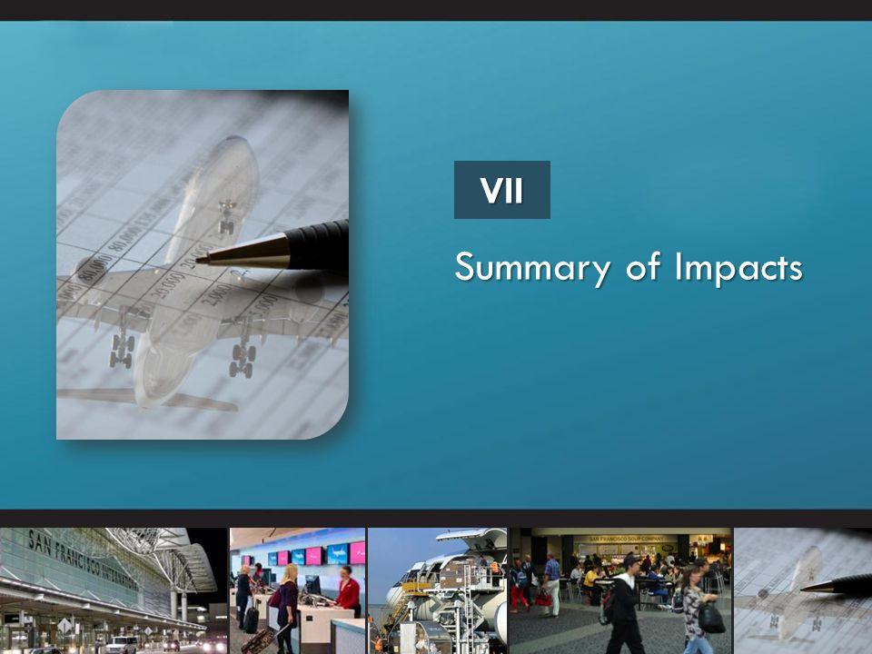 Summary of Impacts VII