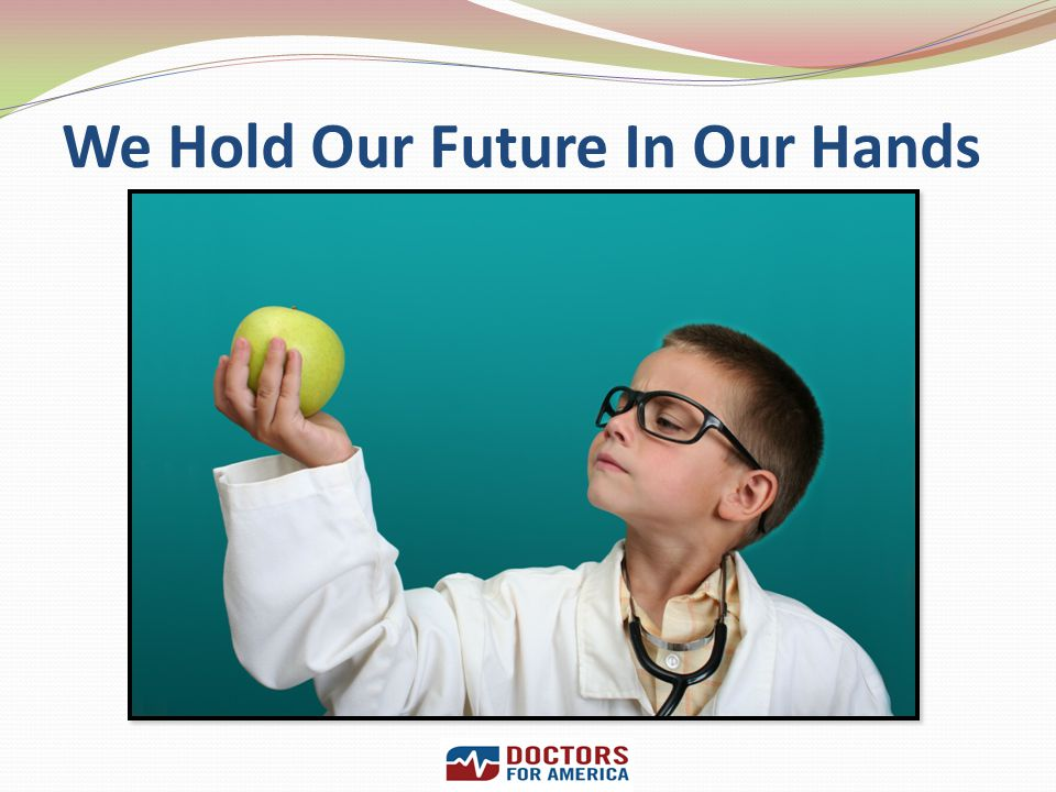 We Hold Our Future In Our Hands