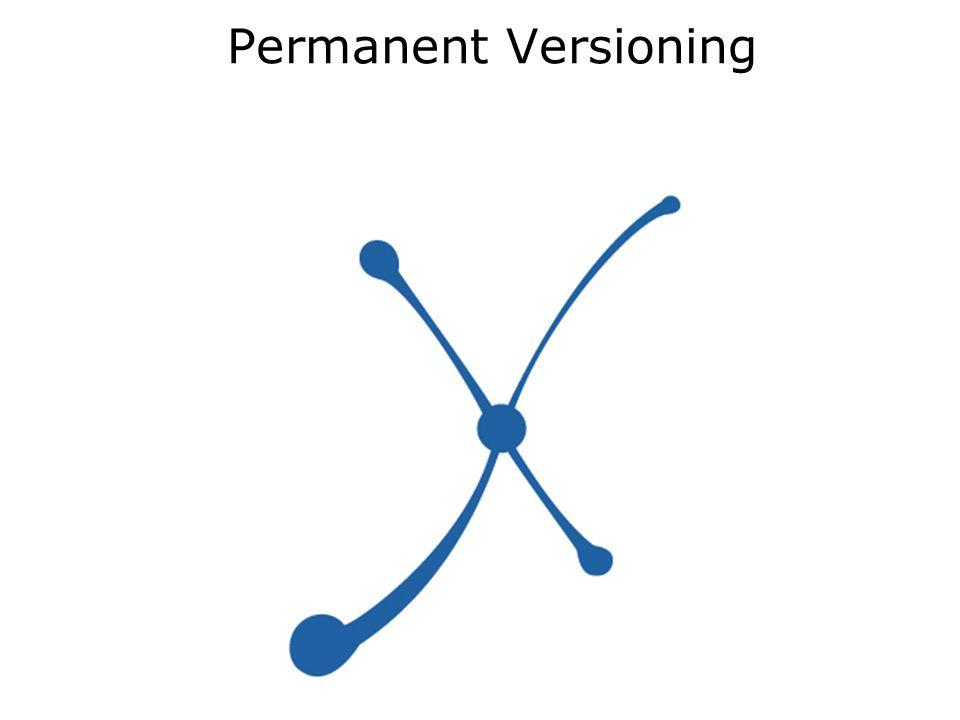 Permanent Versioning