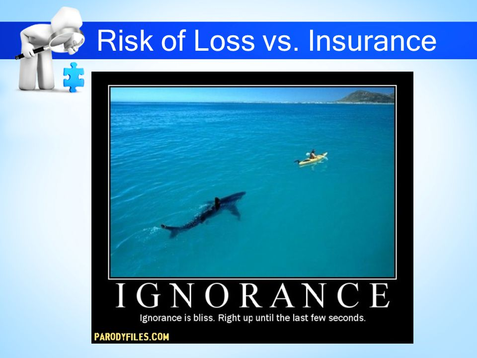 Risk of Loss vs. Insurance
