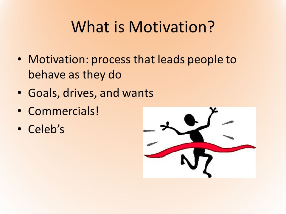 What is Motivation.