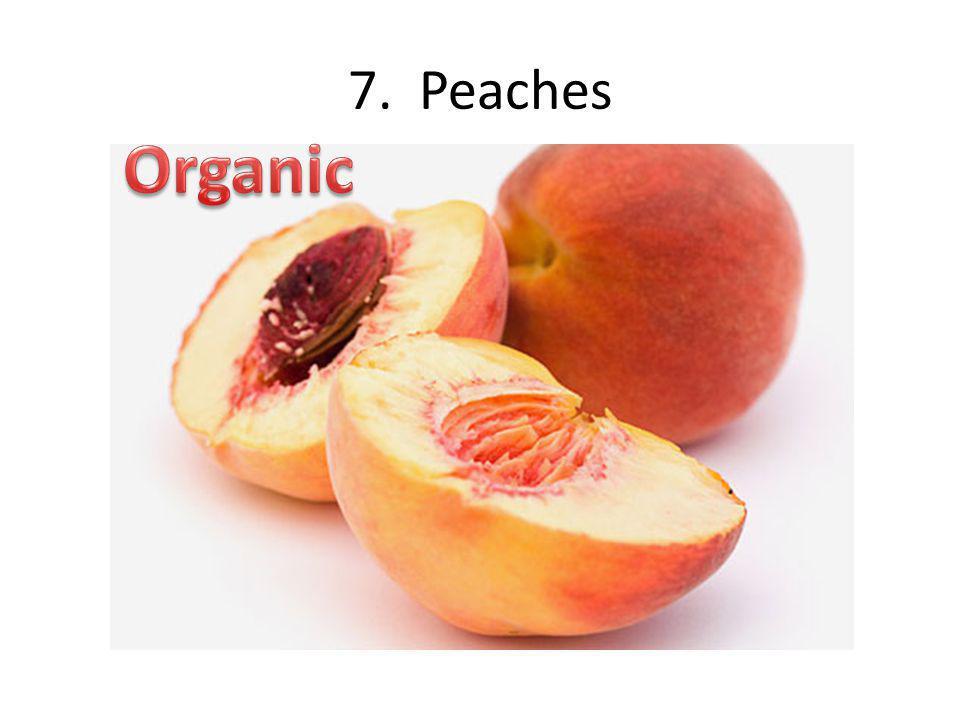 7. Peaches