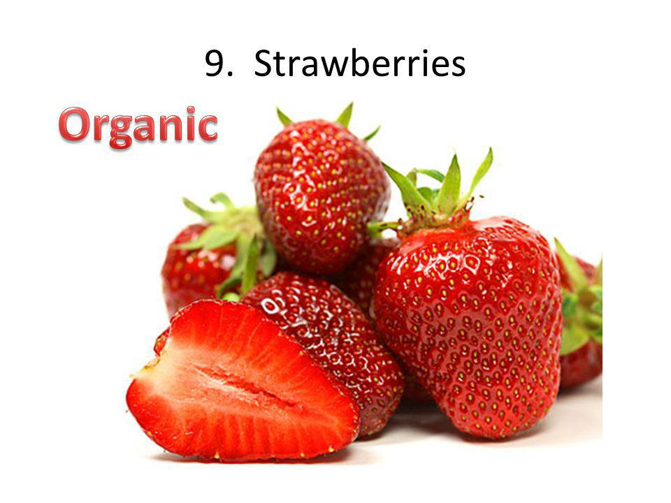 9. Strawberries