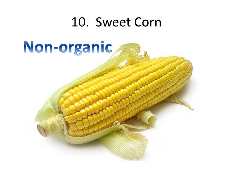 10. Sweet Corn