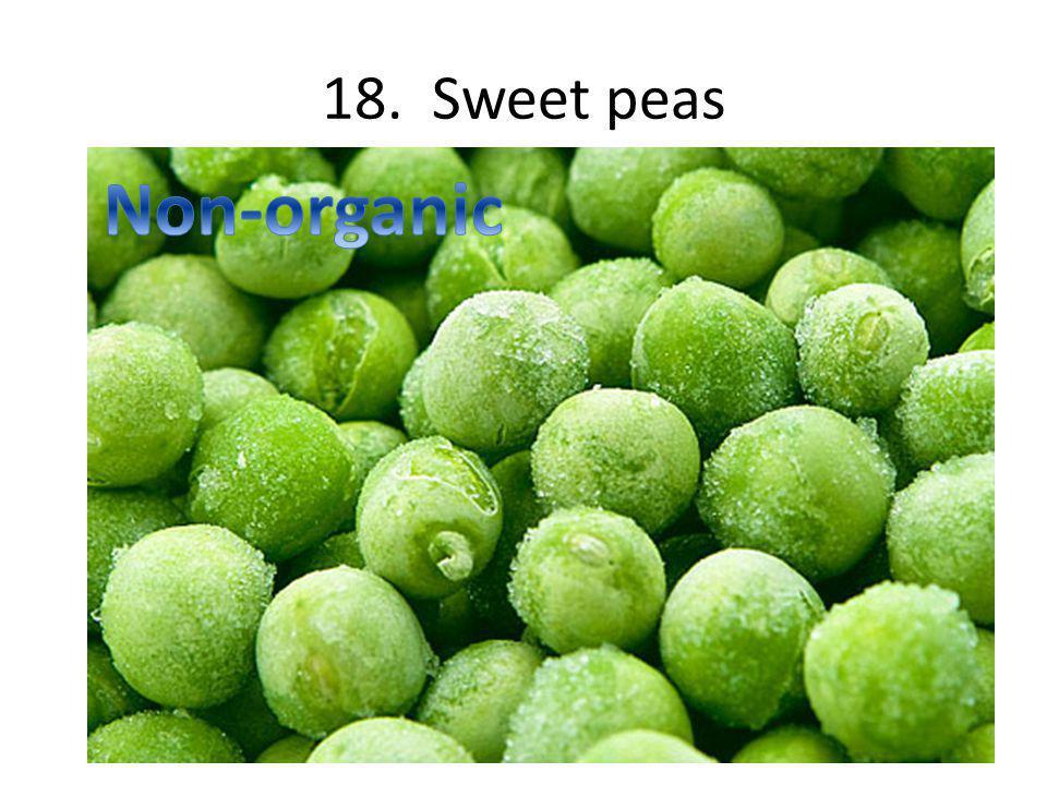 18. Sweet peas