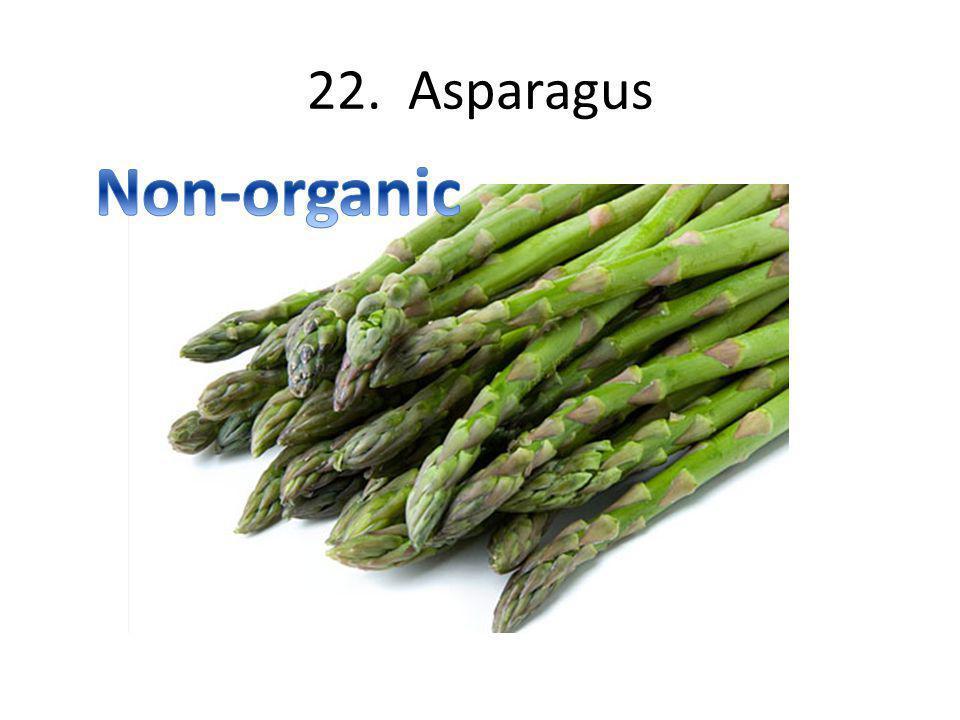 22. Asparagus