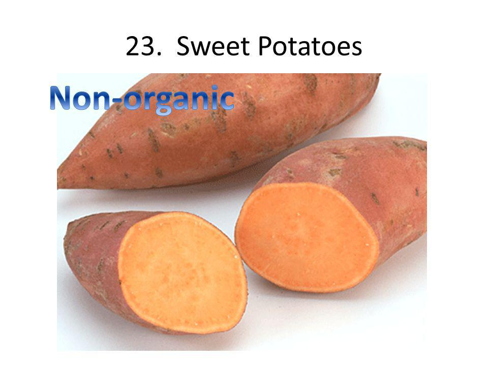 23. Sweet Potatoes