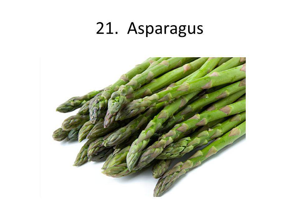 21. Asparagus