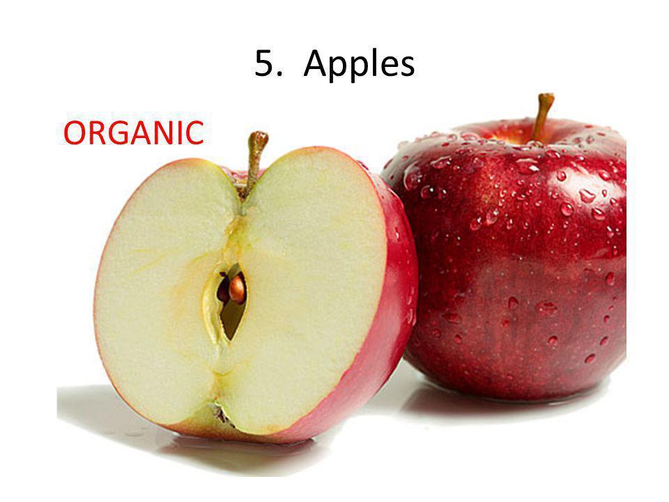 5. Apples ORGANIC