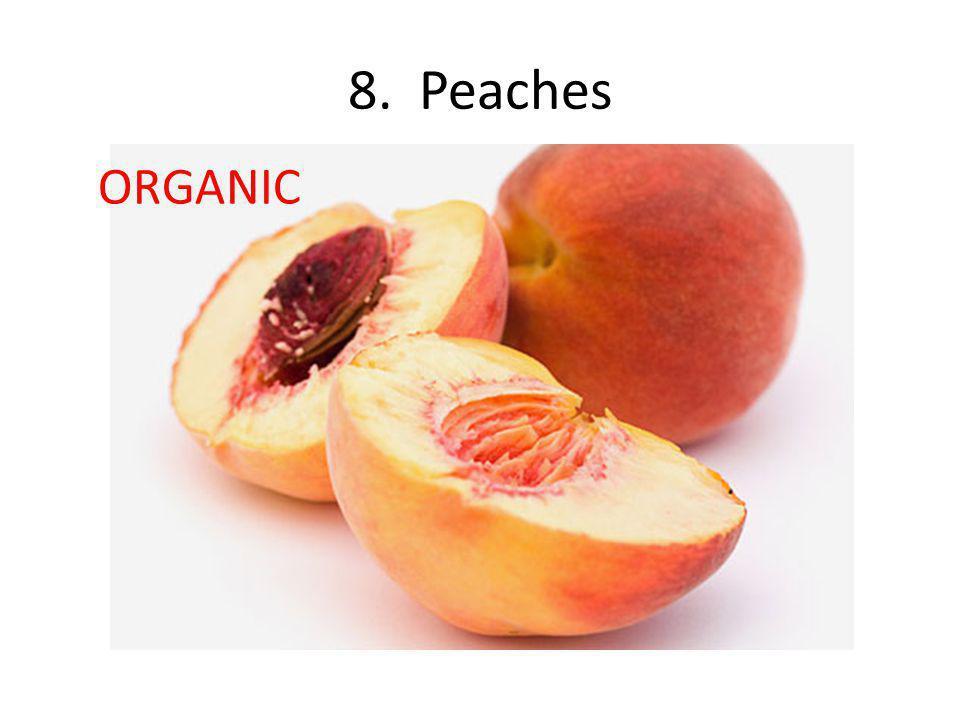 8. Peaches ORGANIC