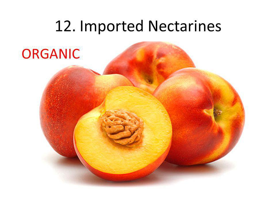 12. Imported Nectarines ORGANIC