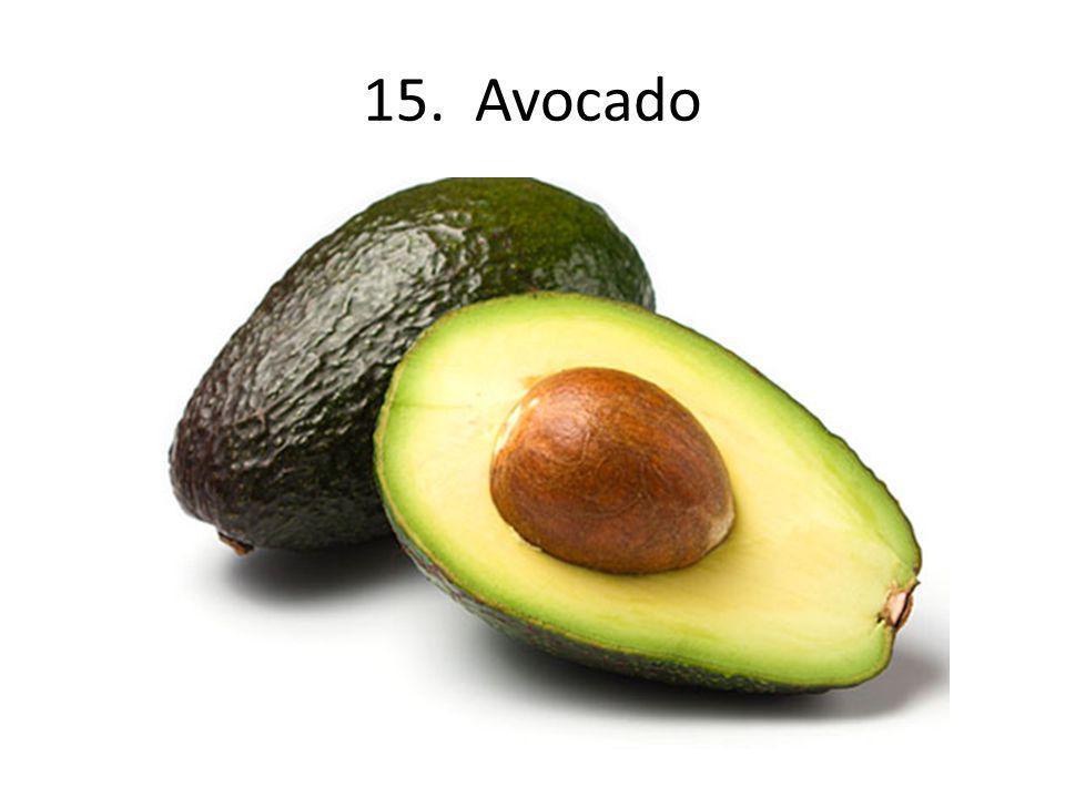 15. Avocado
