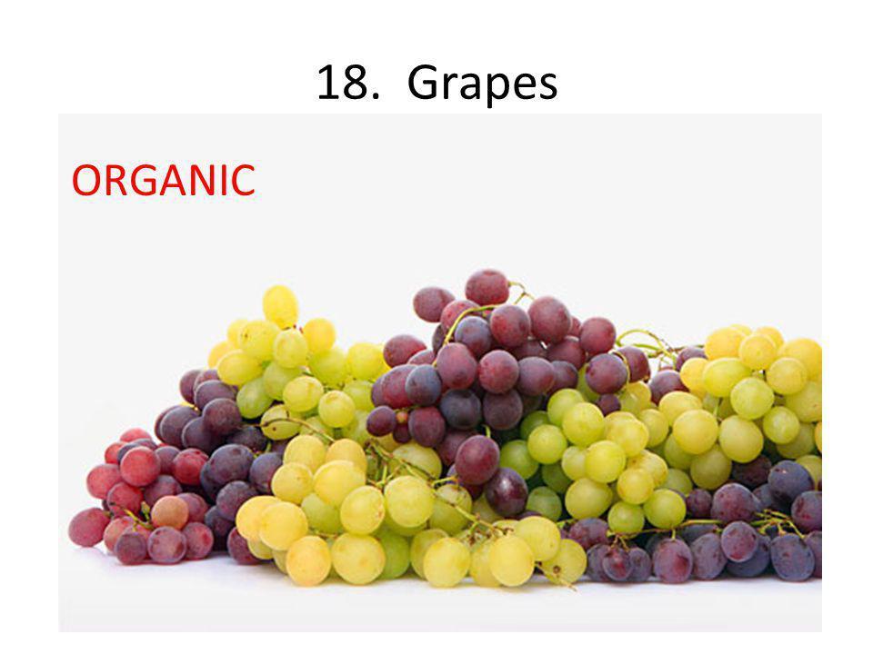 18. Grapes ORGANIC