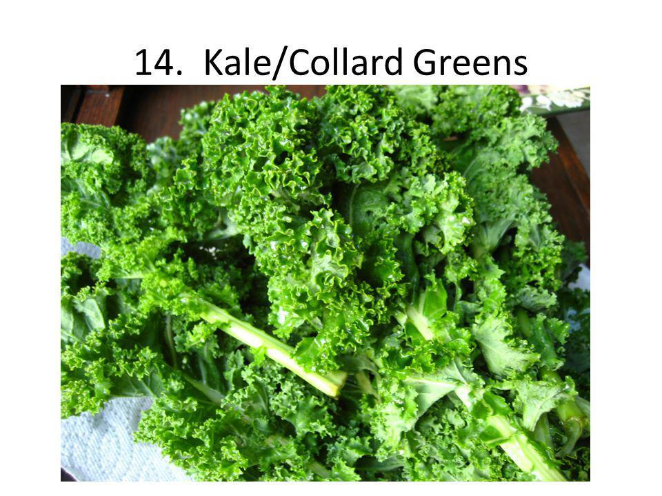 14. Kale/Collard Greens