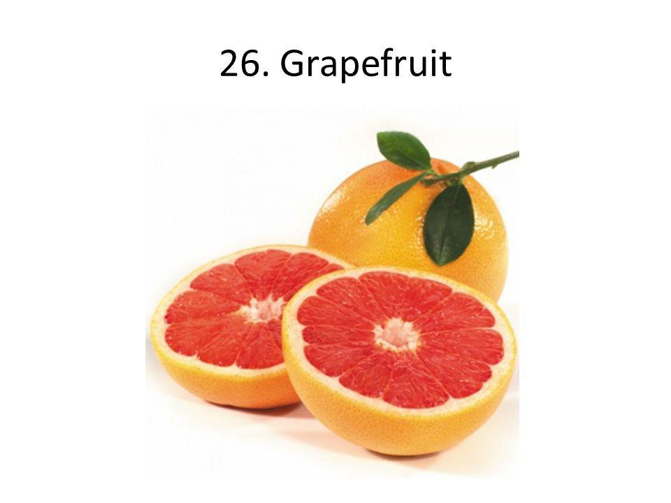 26. Grapefruit