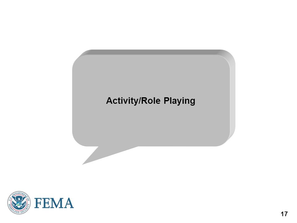 17 Activity/Role Playing