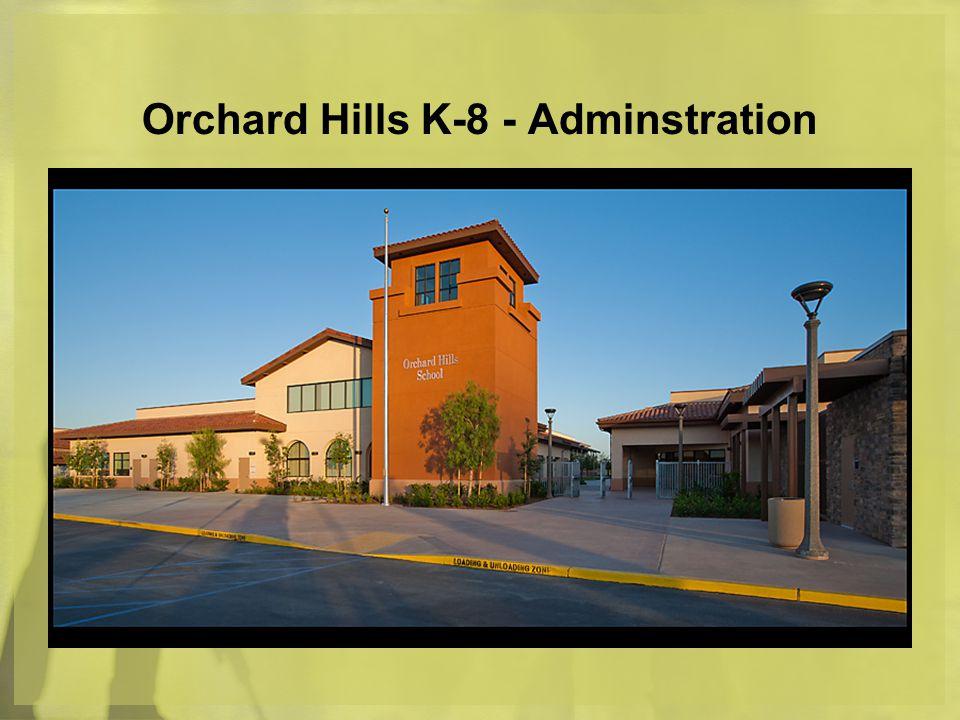 Orchard Hills K-8 - Adminstration
