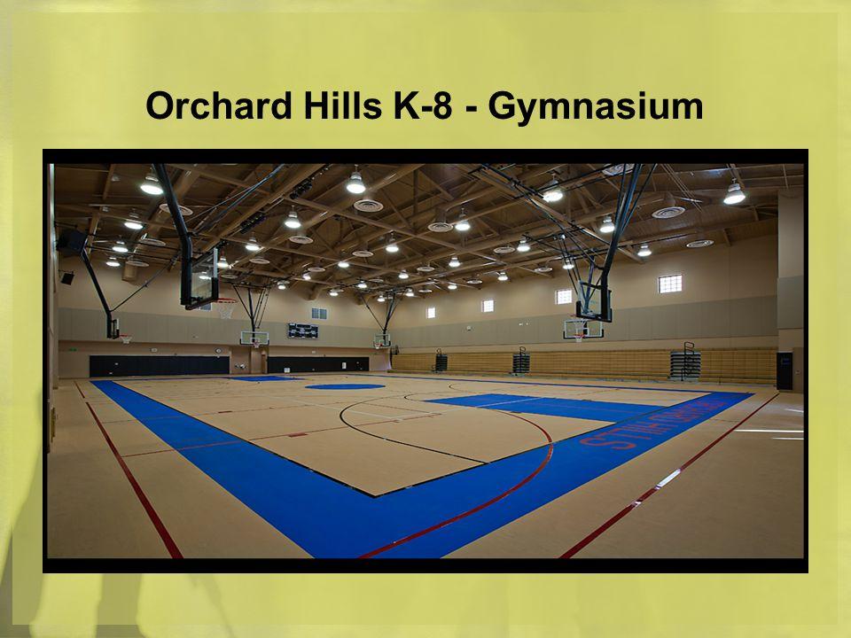 Orchard Hills K-8 - Gymnasium