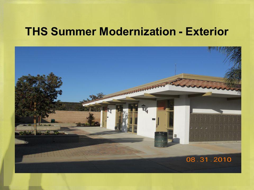 THS Summer Modernization - Exterior
