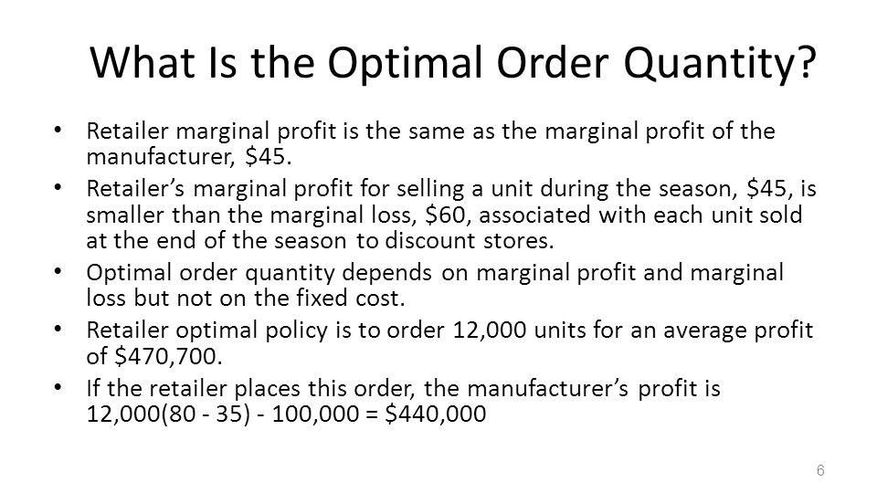Sequential Supply Chain FIGURE 4-1: Optimized safety stock 7