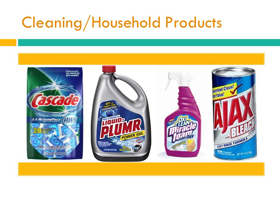Cleaning/Household Products