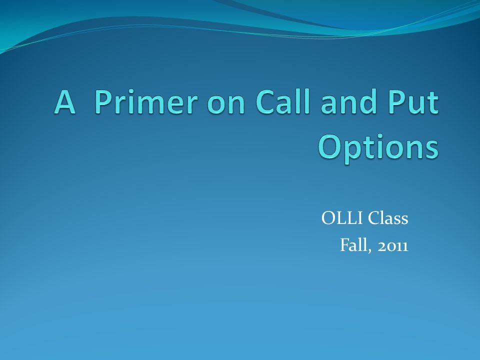 OLLI Class Fall, 2011