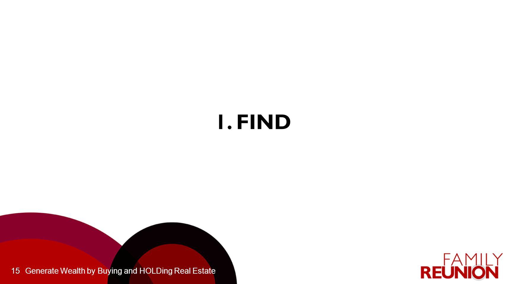 15 1. FIND