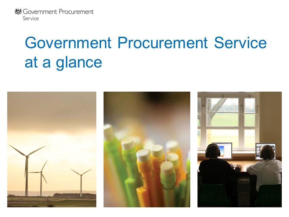 Government Procurement Service at a glance