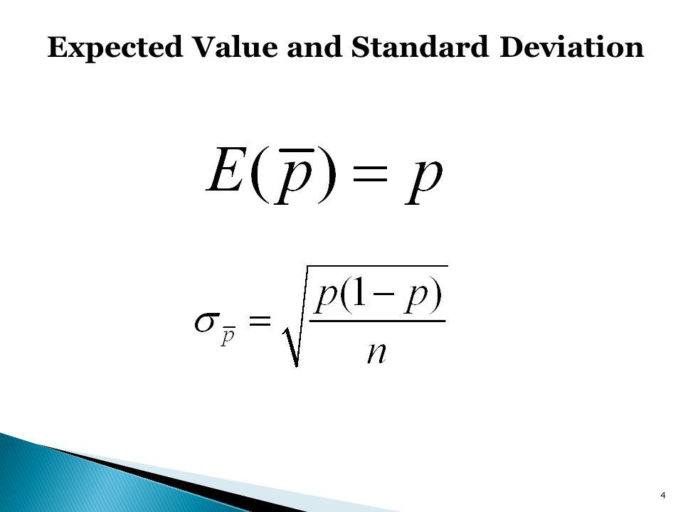 Expected Value and Standard Deviation 4