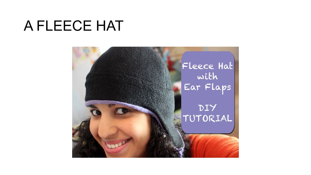 A FLEECE HAT
