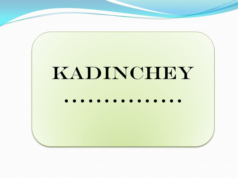 KADINCHEY …………...