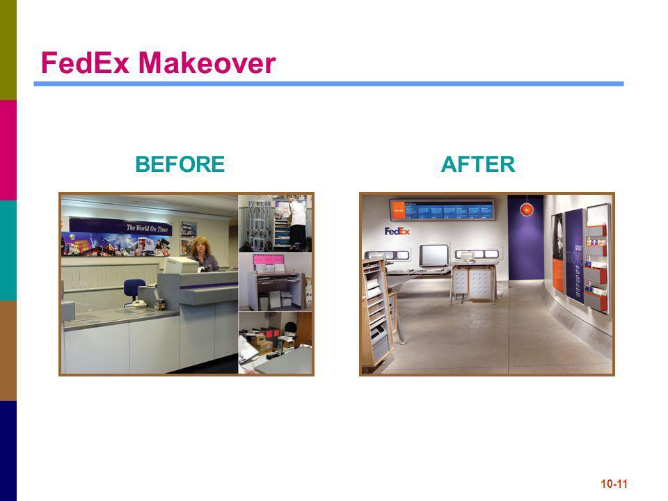 10-11 FedEx Makeover BEFOREAFTER