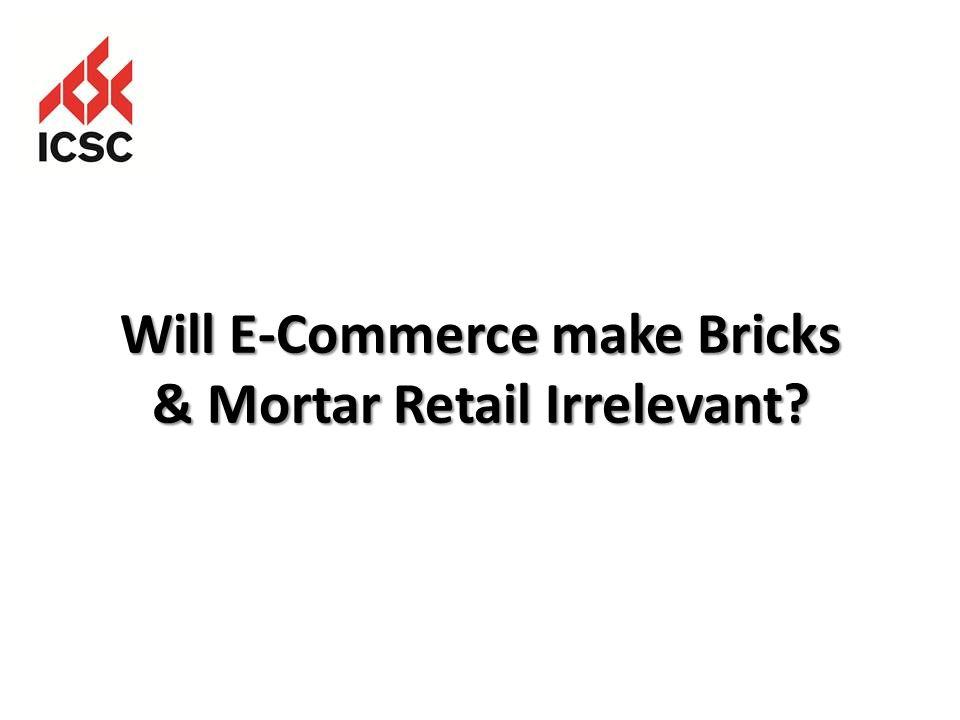 Will E-Commerce make Bricks & Mortar Retail Irrelevant?