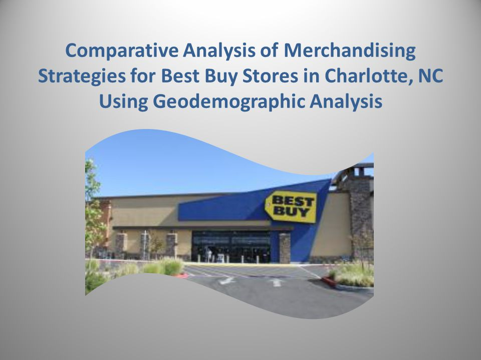 Comparative Analysis of Merchandising Strategies for Best Buy Stores in Charlotte, NC Using Geodemographic Analysis 2