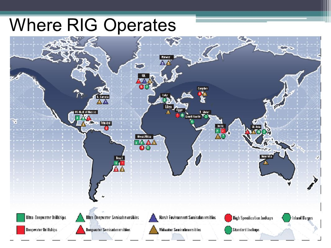 Where RIG Operates