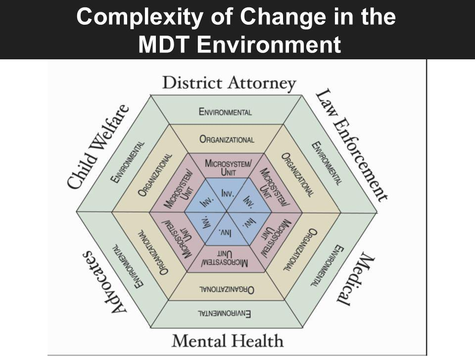 Complexity of Change in the MDT Environment