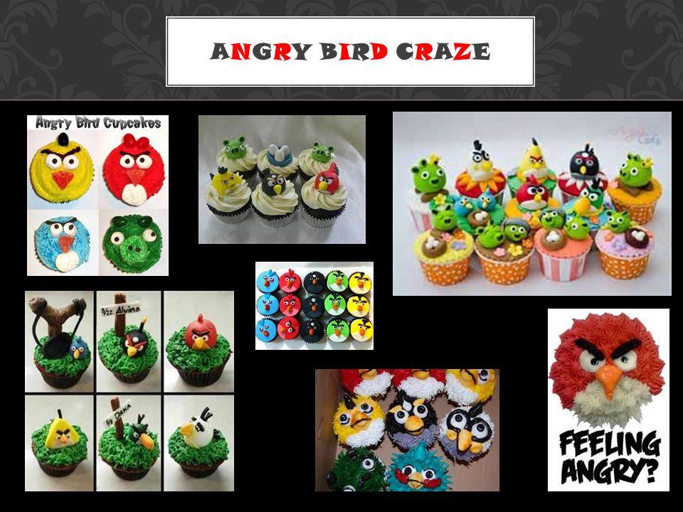 ANGRY BIRD CRAZE